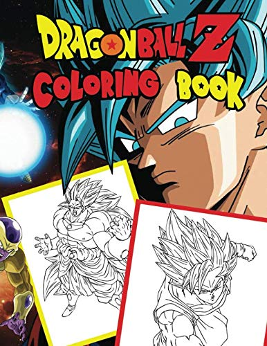 Dragon Ball Z: Jumbo DBS Coloring Book: 100 High Quality Pages (Volume 4) (DBZ Coloring Books)