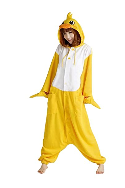 Molly Kigurumi Costume pijamas unisex, adulto pato S Cosplay animales Onesie