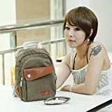 Syyeah Women's Casual / Travel Multifunction Backpack Lover's Bags Chest /Shoulder Bag Designer for Women (Brown)