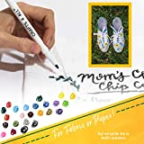Fabric Markers Pens Permanent 24 Colors Fabric