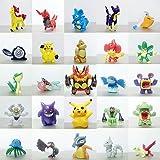 Mbs Store Hooriya Hot Toys Pokemon Action Figures Toys - 2-3Cm - 10 Pcs/Set (Multi Color)