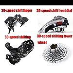 DDSCT-Mountain-Bike-per-Adulto-26-Pollici-Doppio-Freno-a-Disco-VTT-City-Bike-Mono-Ruota-Fuoristrada-Mountain-Bike-MTB-a-velocit-variabile