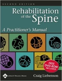 craig liebenson rehabilitation of the spine