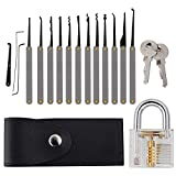 Practice tools Set with 15 Piece Unlocking Lock