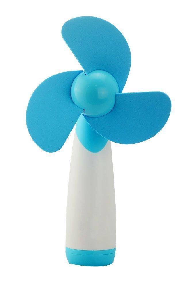 Verde Flyproshop Mini Ventilador de Mano Ventilador de enfriamiento port/átil Personal