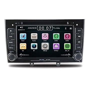 GPS DVD USB SD Bluetooth Car Radio 2 DIN NAV Peugeot 308/Peugeot 408