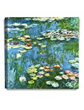 The Bridge over the Water Lily Pond (1914), by Claude Monet. After he purchased a property at Giverny in 1893, Monet transformed the soft and wet land behind his home into a pond, and he built a Japanese-style wood bridge. The artist produced a serie...