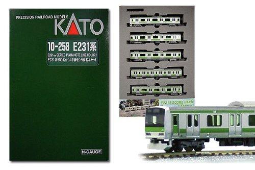 KATO E231系500番台山手線色 5両基本セット 10-258 【鉄道模型Nゲージ】 B002DLSAEC