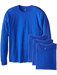Men's Long-Sleeve ComfortSoft T-Shirt (Pack of 4)