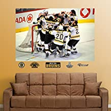 Fathead 71-71296 Wall Decal, Boston Bruins Stanley Cup Celebration Mural