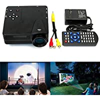 Lightinthebox Home Theater Multimedia LED LCD Projector HD 1080P HDMI PC AV DVD Playstation