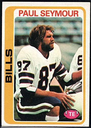 Paul Seymour Bills - Football NFL 1978 Topps #424 Paul Seymour Bills