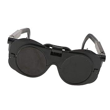 MagiDeal Gafas de Seguridad Soldadoras Corte Voltean Copa de Ojo con Doble Lente Indumentaria: Amazon.es: Bricolaje y herramientas