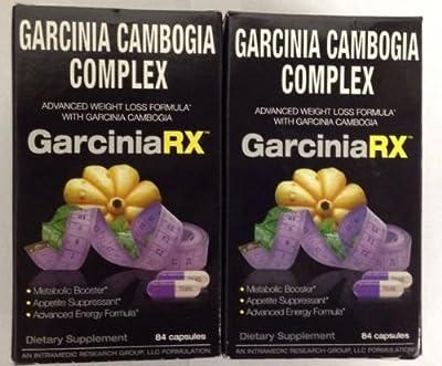 2 Pack- Garcinia Cambogia Complex - GarciniaRX - 84 Capsules