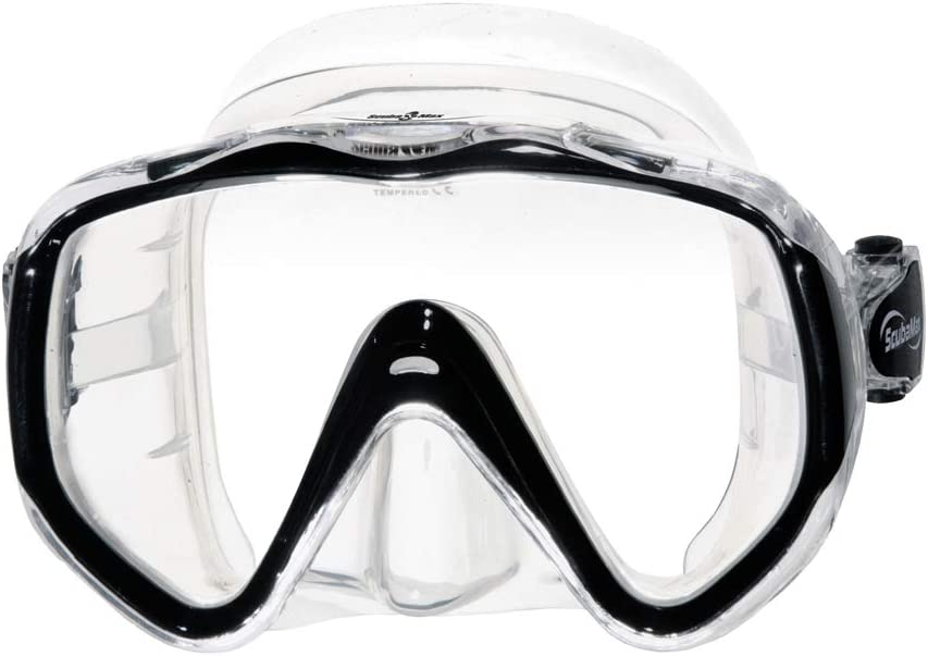 Scuba Max MK-121 Navigator Medium Skirt Scuba Dive Mask
