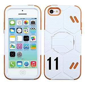Iphone 5/5S Soccer Goalkeeper Hybrid Protective Cover Number: (#11) with Stand.