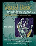 Visual Basic for Windows 95 Insider, Peter G. Aiken, 0471064831