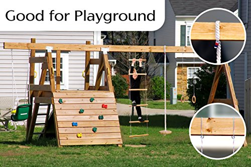 Jungle Gym Swing Kids Set Indoor Outdoor Playground Kit For Boys Girls Gorilla Gym Playset For Children Gymnastics Active Gym Play Set For 3 9