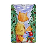 Vantaso Soft Blankets Throw Yellow Weasel Father And Son With School Bag Green Trees Microfiber Polyester Blankets for Bedroom Sofa Couch Living Room for Kids Children Girls Boys 60 x 90 inch