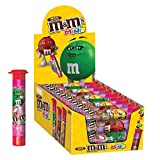 M&M'S Valentine's Milk Chocolate MINIS Size Candy 1.77-Ounce Tube 24-Count Box