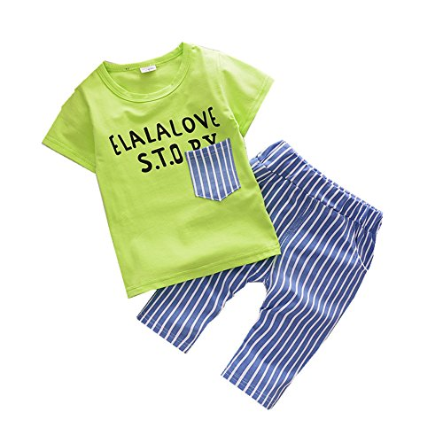 ftsucq-little-boys-letter-shirt-with-striped-middle-pants-two-pieces-shorts-setsgreen-100
