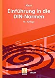 img - for Einf hrung in die DIN-Normen (German Edition) book / textbook / text book