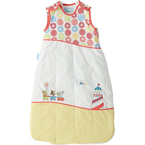 Grobag Fairground 0-6 months 2.5 tog (Deluxe embroidered edition) AAA2993