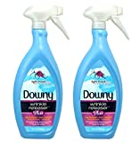 Beauty : Downy Wrinkle Release Spray Plus, Static Remover, Odor Eliminator, Fabric Refresher and Ironing Aid, Light Fresh Scent, 33.8 Fluid Ounce (Pack of 2)