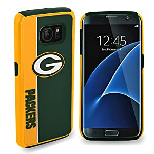"""Forever Collectibles Green Bay Packers Samsung Galaxy S8 Bold Dual Hybrid TPU Cover - 5.8"""" Screen ONLY from Forever Collectibles"""