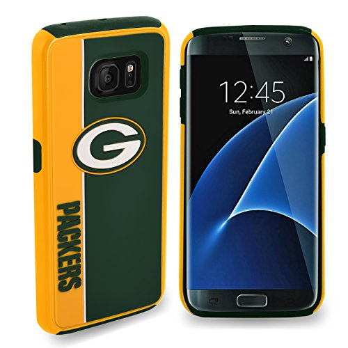 "Forever Collectibles Green Bay Packers Samsung Galaxy S8 Bold Dual Hybrid TPU Cover - 5.8"" Screen ONLY from Forever Collectibles"