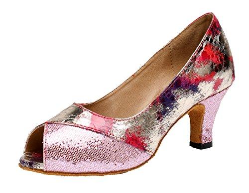 35 e Rosa 6cm Pink Donna Heel Moderno Joymod Jazz MGM Bgqwzpf