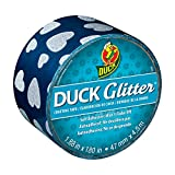 Duck Brand Glitter Crafting Tape, 1.88-Inch x 5-Yard Roll, Hearts (283850)