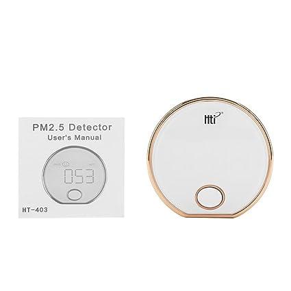 Digital PM2.5 Detector Monitor de Calidad del Aire Interior Calina Polvo Sensor Probador de