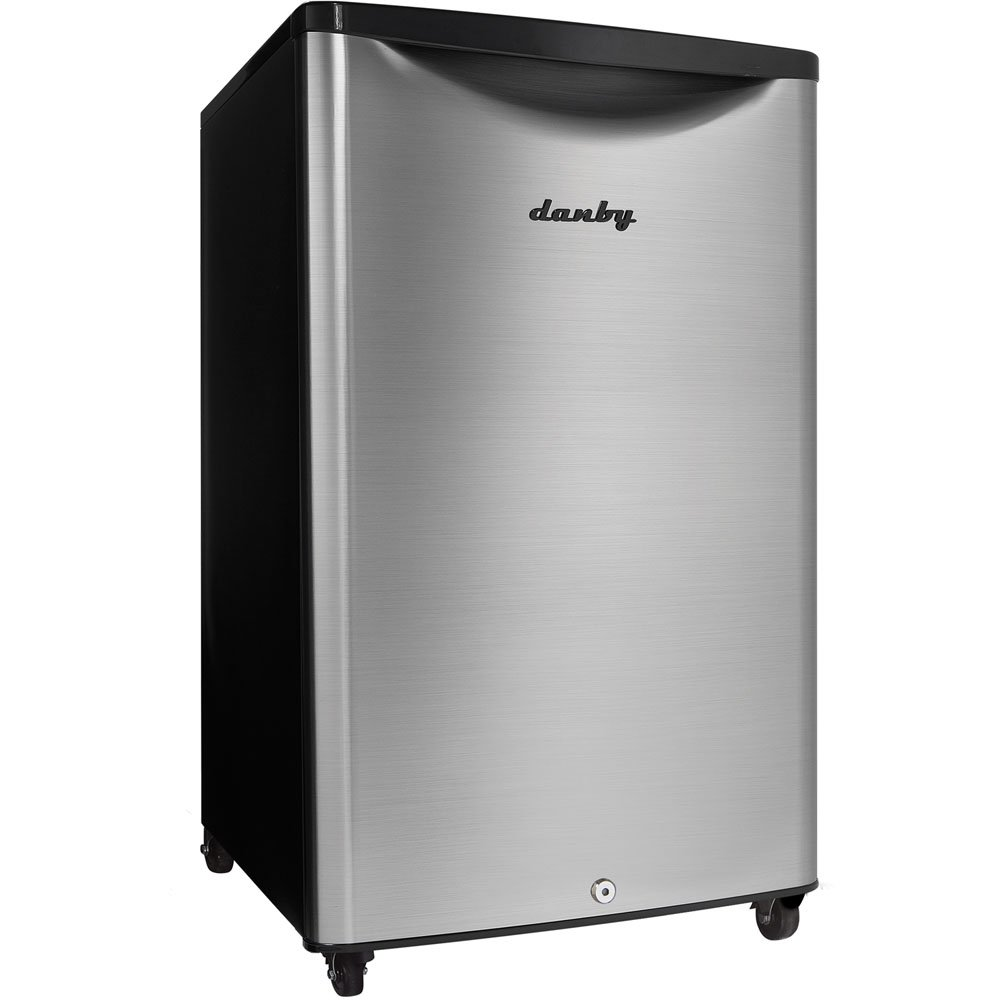 Danby DAR044A6BSLDBO 4.4 cu.ft. Outdoor Rated Compact All Refrigerator