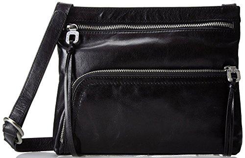 HOBO Vintage Cassie Small Cross-Body Handbag,Black,One Size by HOBO