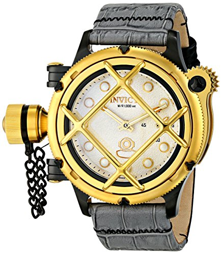 Invicta Men's 16357 Russian Diver Analog Display Mechanical Hand Wind Grey Watch