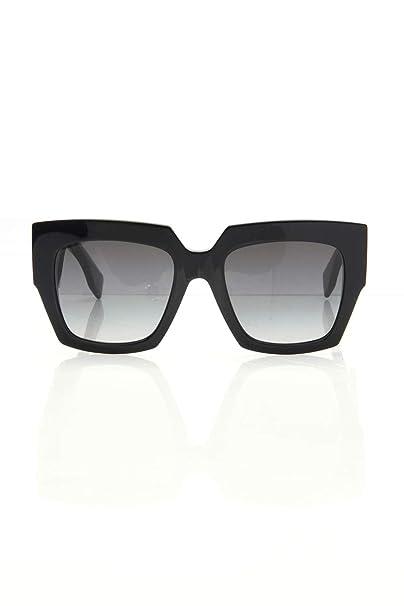 Fendi FF 0263/S 9O 807 Gafas de sol, Negro (Black/Grey), 52 ...