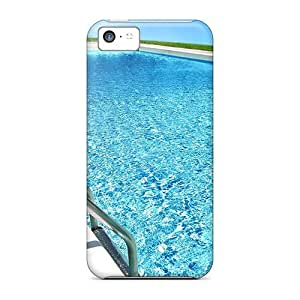 Iphone 5c Case Slim [ultra Fit] Swimming Pool Protective Case Cover