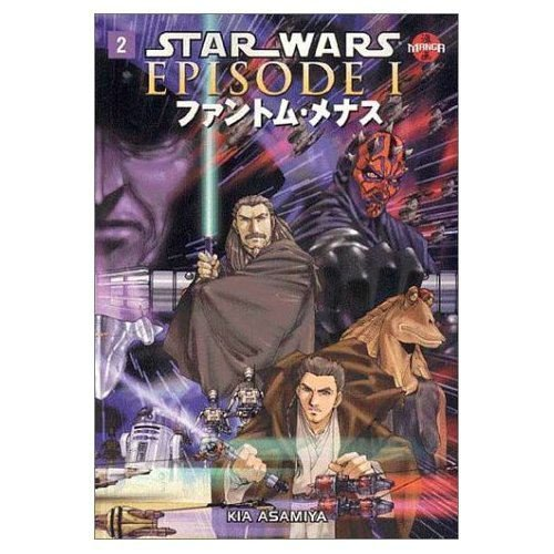 - Star Wars, Episode I: The Phantom Menace, Vol. 2 (Manga) (v. 2)