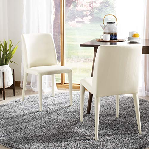 Safavieh Home Collection Garretson Taupe 34.4-inch Side Chair Set of 2