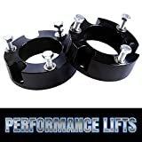2007 tacoma 3in lift kit - Prime Choice Auto Parts LK2361L3AB Front Leveling Lift Kit Spacer 3 Inch Aluminum Black