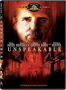 Unspeakable [Import]