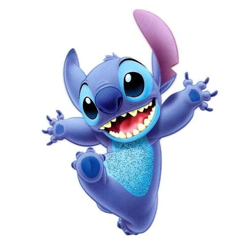 Amazon.com : Stitch jumping in Lilo and Stitch Movie Disney Heat Iron