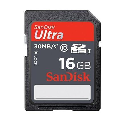 SanDisk Ultra - Tarjeta de memoria SDHC para cámara Canon EOS 650D ...