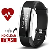 Fitness Tracker, Kinbom Heart Rate Monitor Smart Watch With Sleep Monitor, Step Counter, GPS, Message Notification, Bluetooth 4.0, IP67 Waterproof Activity Tracker for Android&iOS Smart Phone (Black)