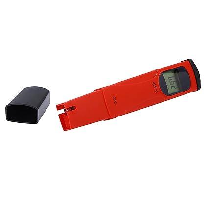 Sharplace Bolsillo Digital de PH Probador de Temperatura Accesorios Ordenador Portátil Cámara Fotografía