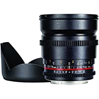 Rokinon CV16M-C 16mm T2.2 Cine Wide Angle Lens for Canon EF Mount Cameras44; Pack of 1