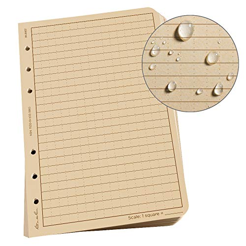Rite in the Rain Weatherproof Loose Leaf Paper, 4 5/8