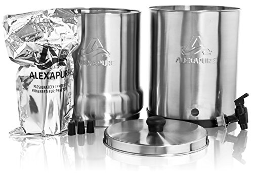 Alexapure Pro Filter Replacement – 1 Filter Pack, Black