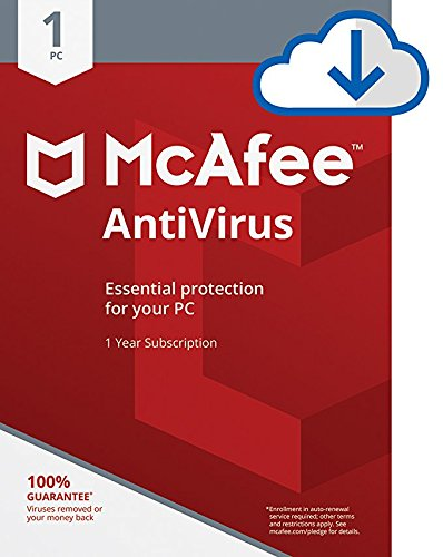 McAfee AntiVirus - 1 PC [Download (Windows Computer Protection)
